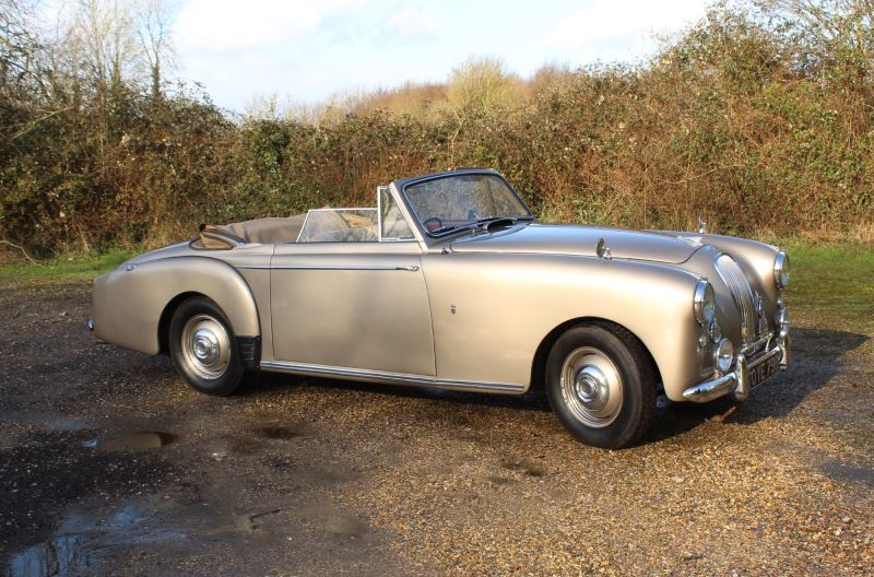 Lagonda 3Ltr Tickford Drophead Coupe